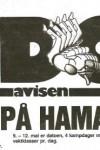 Avis - EM 1985 - forside