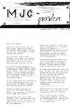 MJC-posten - nr. 1 - 1988-forside