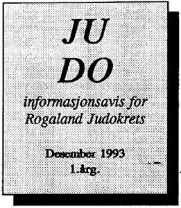 Infoavise-desember 1993-LOGO
