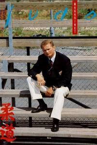 Judomagasinet nr. 2 fra 1992 med Stig Traavik på forsiden.