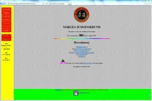 Første internettside - 19960801- Arild Maka