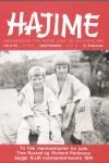 Hajime - nr. 3 - 1974 - Årgang 3 - forside