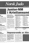 Norsk Judo Nr 1 - 1995