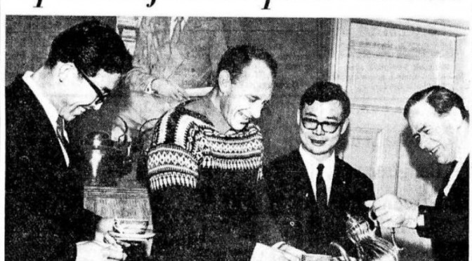 Klipp fra Aftenposten 1950-1969