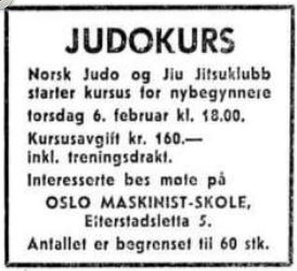 NJJK nybegynnerkurs - 3 februar 1969