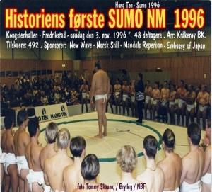 SUMO NM - 1996 i Fredrikstad