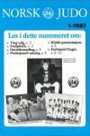 Norsk Judo Nr 1 - 1987 - Forside