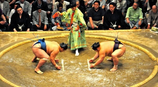 Judodeltagelse i Sumo NM- 1996