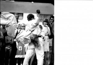 Bjørn kaster IL-VG tour 1979 - Kent - Bjørn - Inger Lise