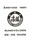 NJF ting - 1981-forside