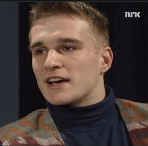 Alexander Aamot i Tempo 30 november 1993