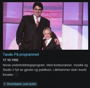 Anders Lie - 60 kast på 2 minutter - 1992