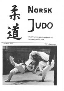 NJFs medlemsblad Norsk Judo, nr. 1 1972.