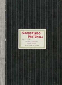 Graderingsprotokoll - 1976 - 94