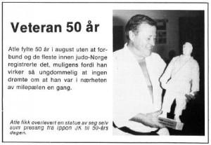 Atle Lundsrud - 50 år - august 1983