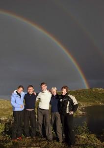 Judo for fred sitt styre 2006. Fra venstre: Birgit Ryningen, Anders Levoll, Lars Kyllingstad, Tone Solnørdal og Vibeke Thiblin