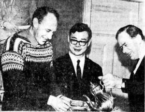 Japansk besøk 26 februar 1968