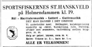 St Hanskveld 23 juni 1956